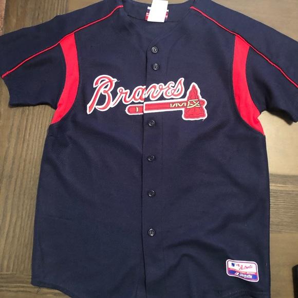 premium selection c1122 cda40 Atlanta Braves Youth XL Jersey